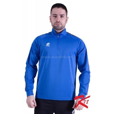 R8960 Lotto Athletica Antrenman Eşofmanı Tek Üst Mavi