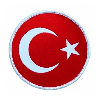 Türk Bayrağı (Tişörtlere ve Tekstil ürünlerine Dikilmek Üzere)